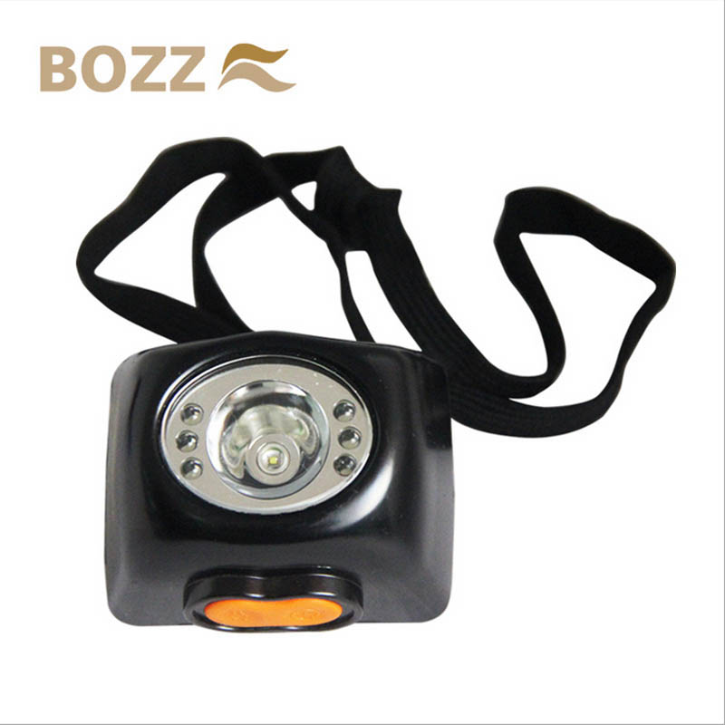 Headlamp with display screen and lithium battery KL4.5LM
